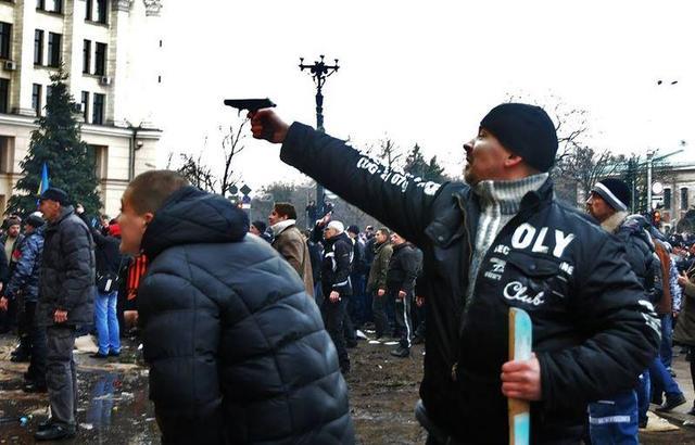 боевики в крыму